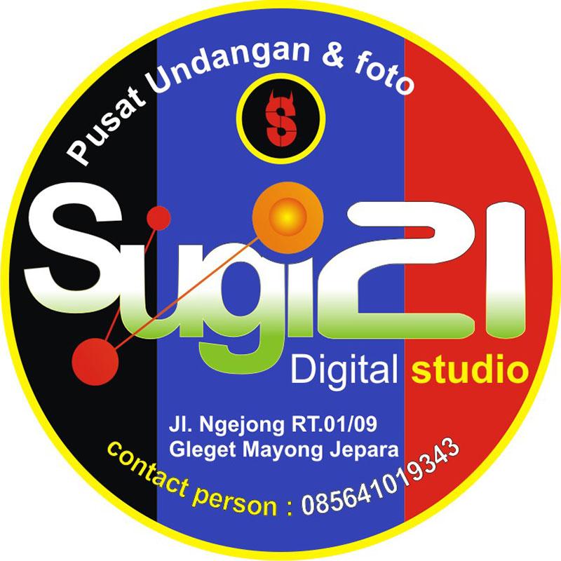Desain Logo: Pusat Digital Printing Jepara